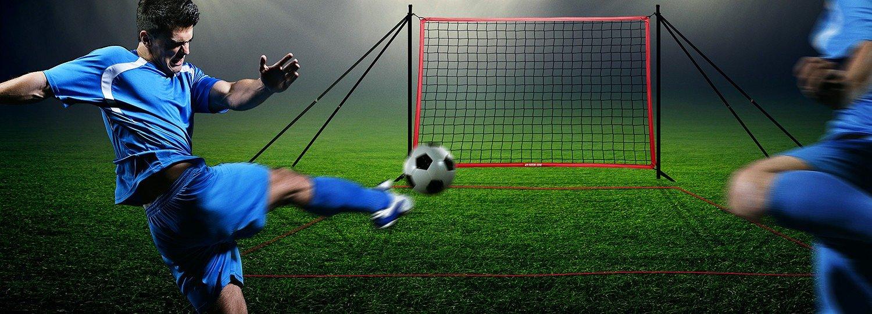 amazon com futchi portable soccer rebounder sports u0026 outdoors