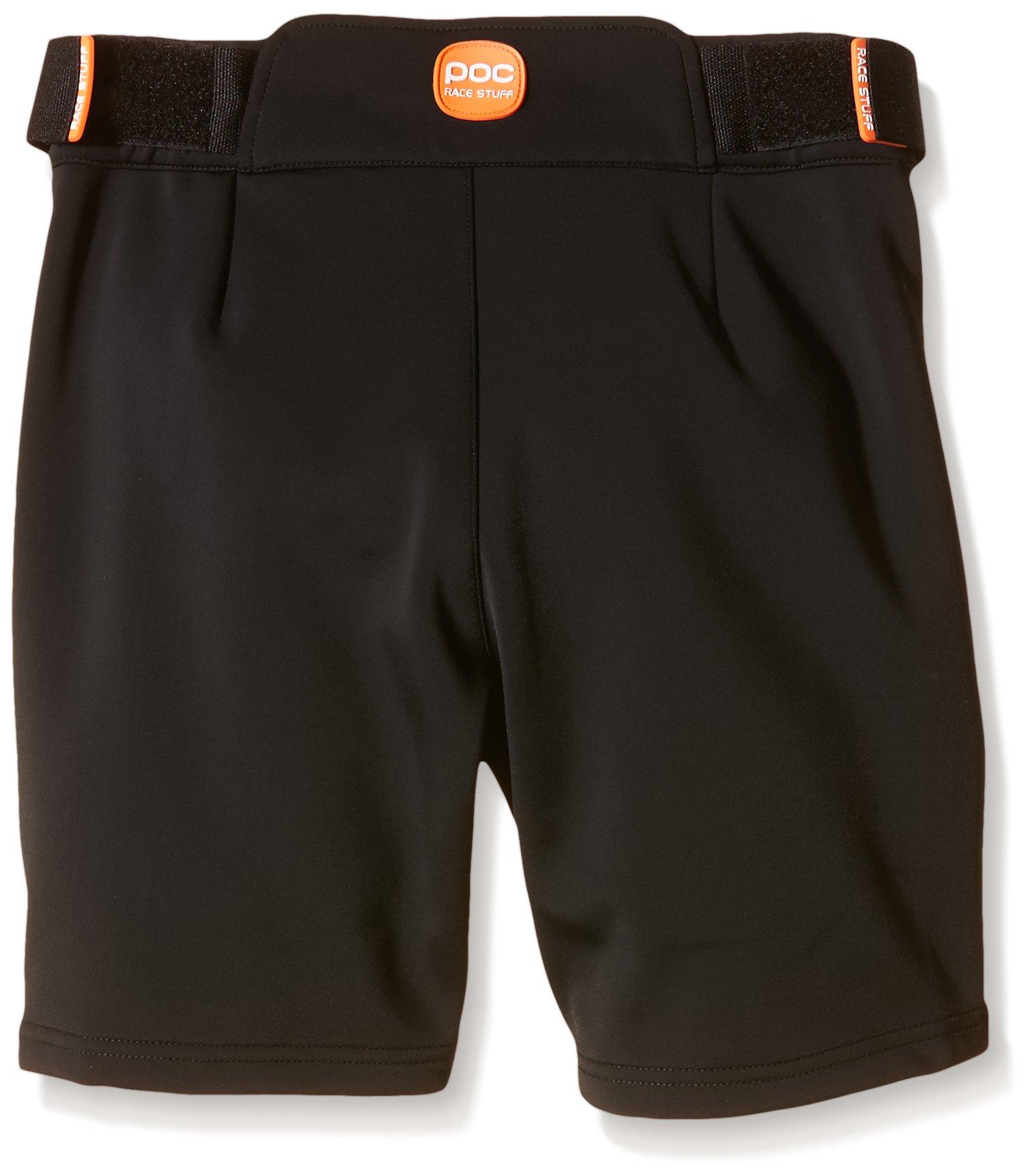POC Junior Race Skiing Shorts, Uranium Black, Size 140/10