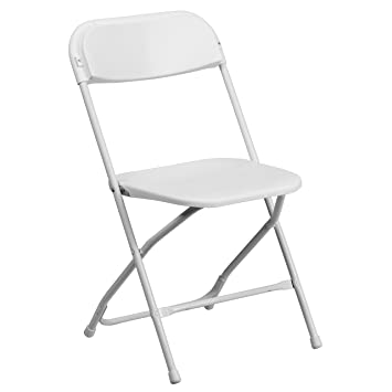 Cool Amazon Com A Line Furniture Ontario White Durable Folding Machost Co Dining Chair Design Ideas Machostcouk
