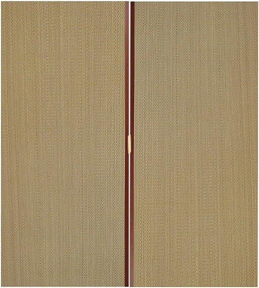 Jcnfa-Persianas Cortina de bambú Plegable Tira de succión de imán ...