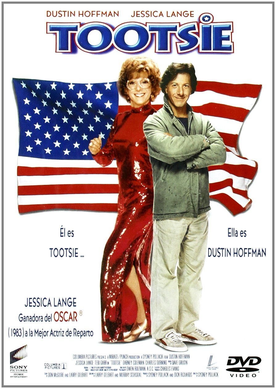 Tootsie [DVD]: Amazon.es: Dustin Hoffman, Jessica Lange, Teri Garr, Sydney Pollack, Bill Murray: Cine y Series TV