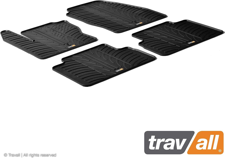 Travall Mats Gummifußmatten Kompatibel Mit Ford C Max 2010 2015 Trm1138 Allwettermatten Nach Maß Fussmatten Set Auto