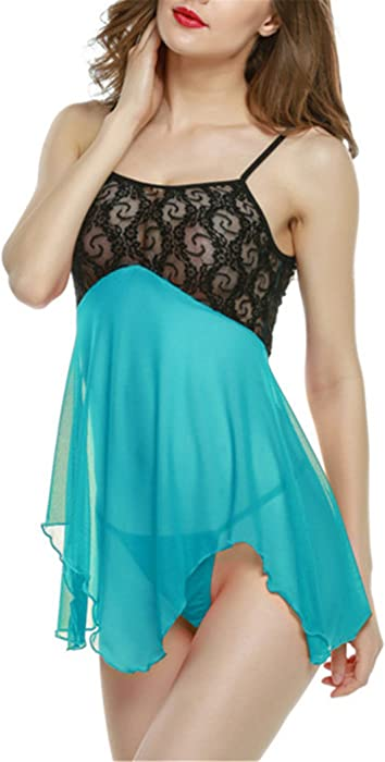 ... Babydoll Lingerie Women Ropa Interior Mujer Sexy Erotica Lingerie Sexy Underwear Blue S. Back. Double-tap to zoom