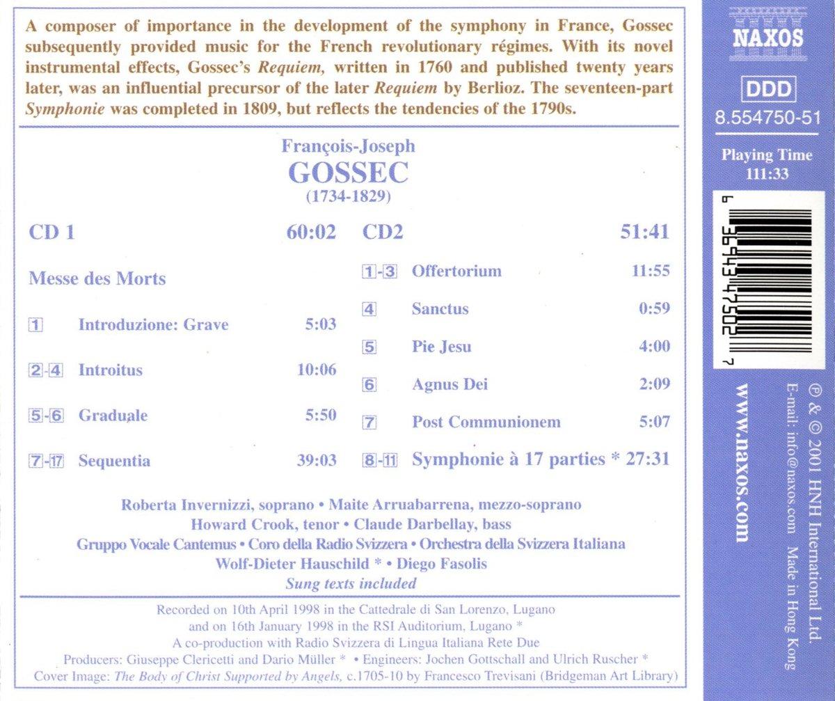 Grande Messe Des Morts / Symphonie a 17 Parties