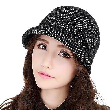 Wangs Ladies Curling Fisherman Hat Summer Outdoor Hats Korean Leisure Bucket  Hat Fashion-B 3a8586e374b