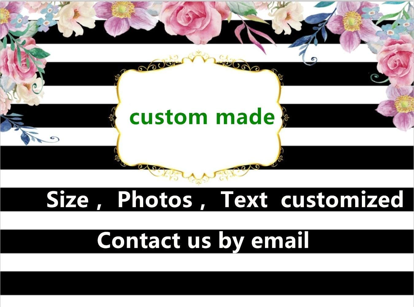 Photography Background Eiffel Tower 7x5ft Oil Painting Pink Flower Garden Scenic Wedding Backdrops for Photos Seamless Portrait Background Pictures