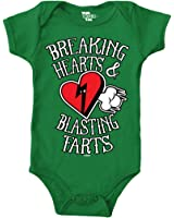 Breaking Hearts And Blasting Farts Bodysuit