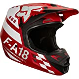 2018 Fox Racing V1 Sayak Helmet-Red-L