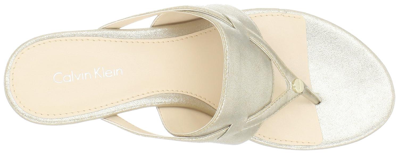 Calvin Klein Gabriella, Scarpe col Tacco Donna Oro Platino