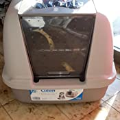 57x46x43cm catit Toilette per Gatti Coperta Jumbo Grey