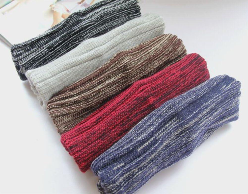 inverno cappello lavorato a maglia a due colori piegati Cappucci caldi Cappellino in lana hip hop a 42-65cm Outflower Copricapo moda autunno