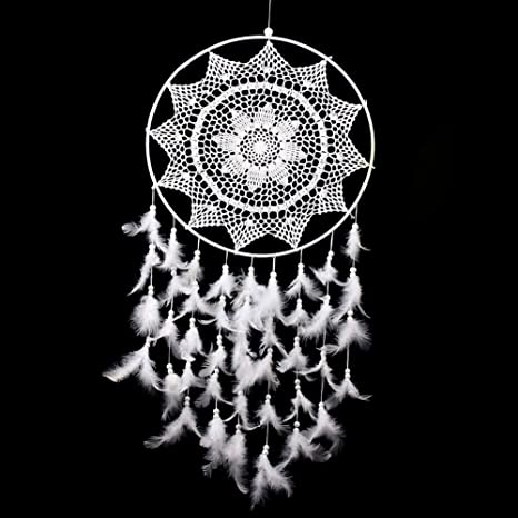 Dream Fabric 40 40 40 Large White Handmade Dream Catcher With Cool Brother Dream Catcher Sewing Machine
