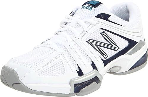 New Balance Mc1005Wp - Zapatillas de tenis, color White/Blue, talla 12 UK 2E: Amazon.es: Zapatos y complementos