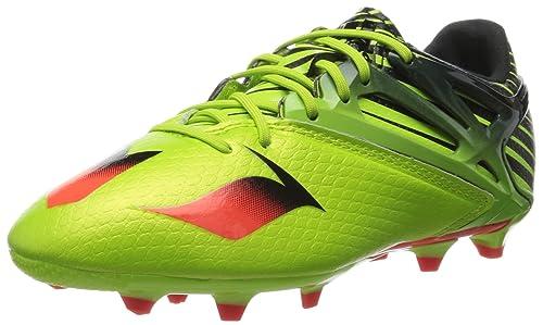 huge selection of eac77 23d3f adidas Messi 15.1 J, Botas de fútbol Unisex Niños  Amazon.es  Zapatos y  complementos