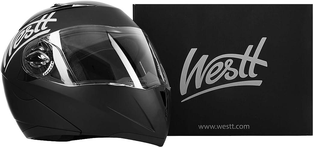 Westt Torque Casco De Moto Modular Integral - El Mejor Casco de Moto Integral del Mercado
