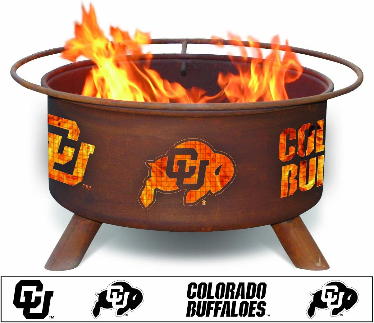 Patina Products F223, 30 Inch University of Colorado Fire Pit