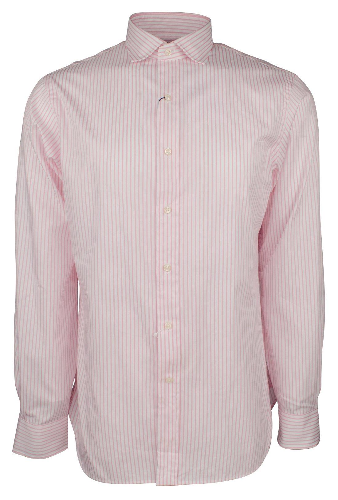 Polo Ralph Lauren Men's Slim Fit Striped Cotton Shirt-PW-17-43