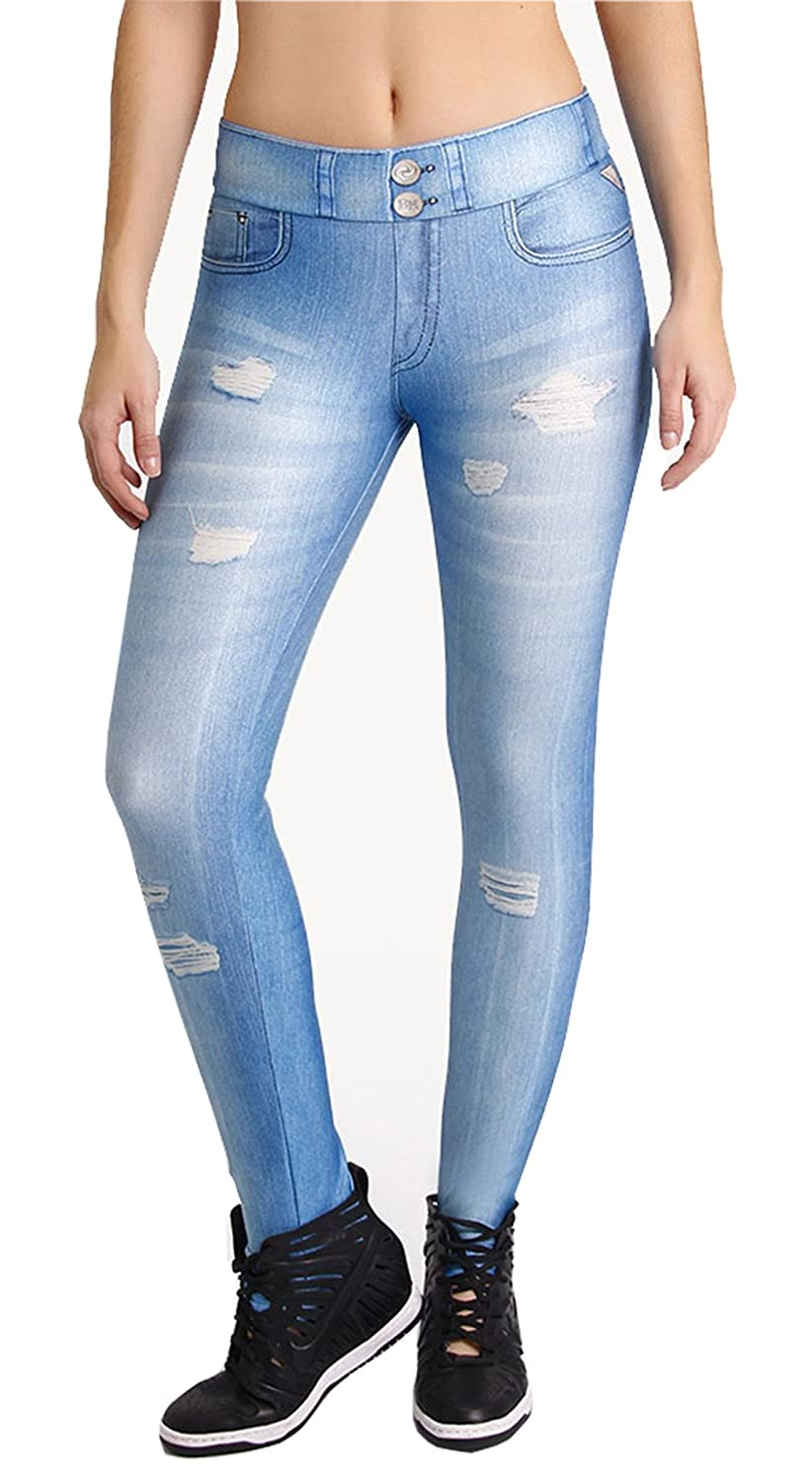 Brazilian Fake Jeans - Fabulous Light Blue