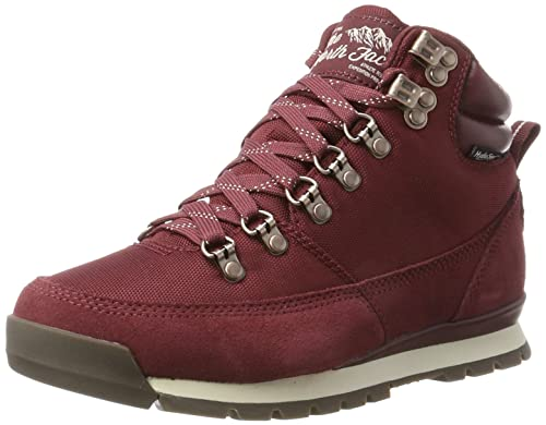 95a95be4d5 THE NORTH FACE Damen Back to Berkeley Redux Leather Stiefel, Mehrfarbig  (Barolo Red/