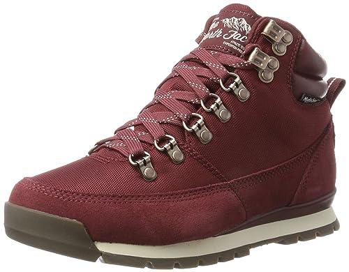 The North Face W Back-To-Berk Redux, Botas para Mujer, Multicolor (Barolo Red/vintage White), 37 EU: Amazon.es: Zapatos y complementos