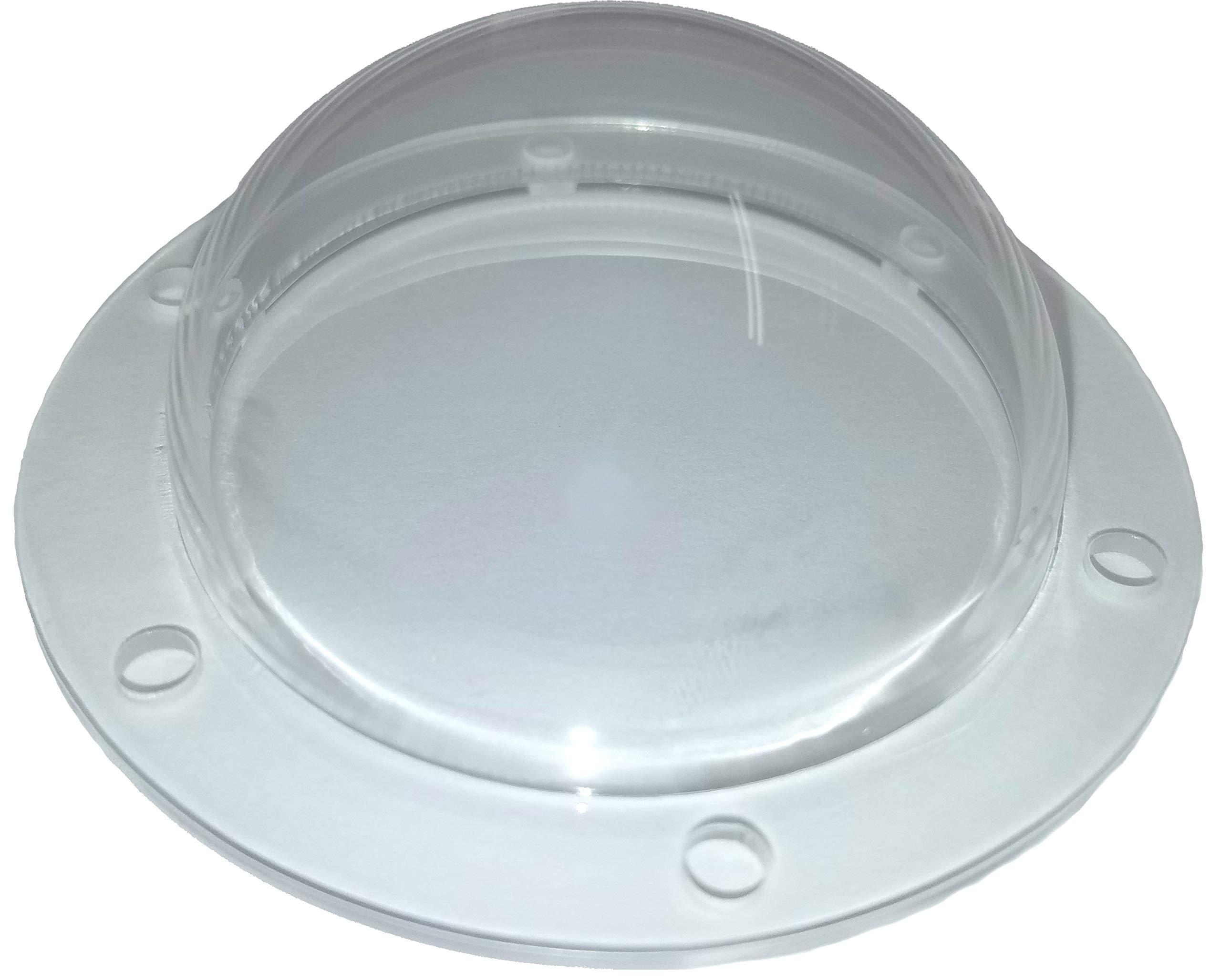 SupremeTech Acrylic Dome/Plastic Hemisphere - Clear