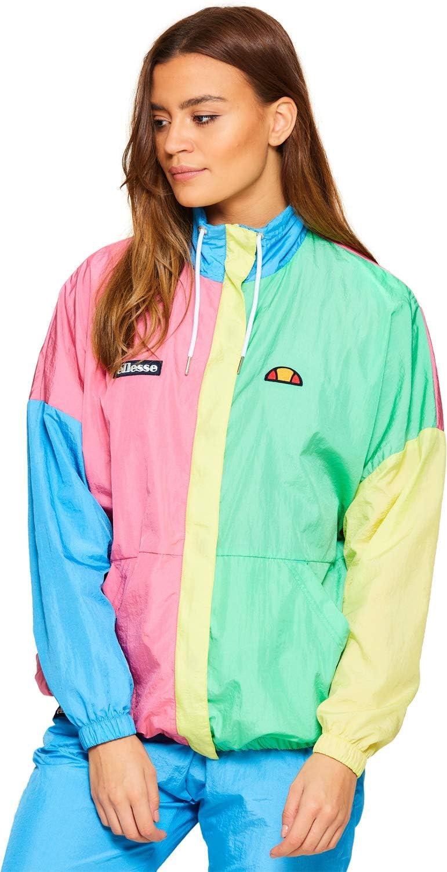 ellesse Looc Shell Jacket Veste Femme, Multicolore, L