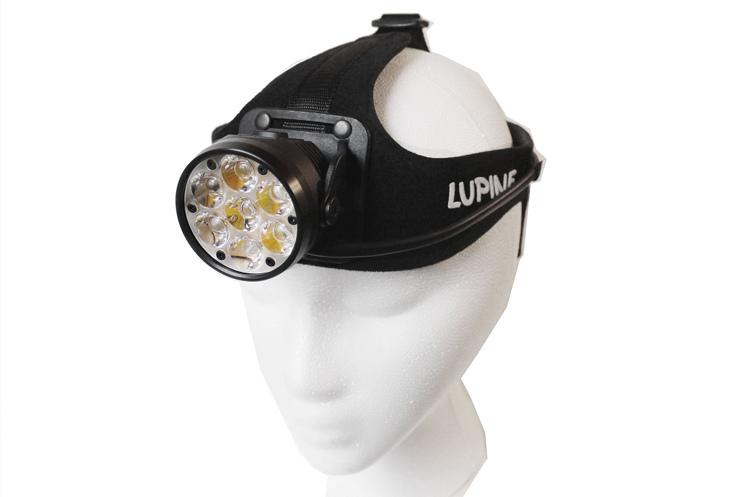 Lupine Lighting Systems Betty RX 14 HD Headlamp, 5000 Lumens, LED, Bluetooth Control, Heavy Duty Headband, Rechargeable 13.2 Ah SmartCore Lithium-ion Battery