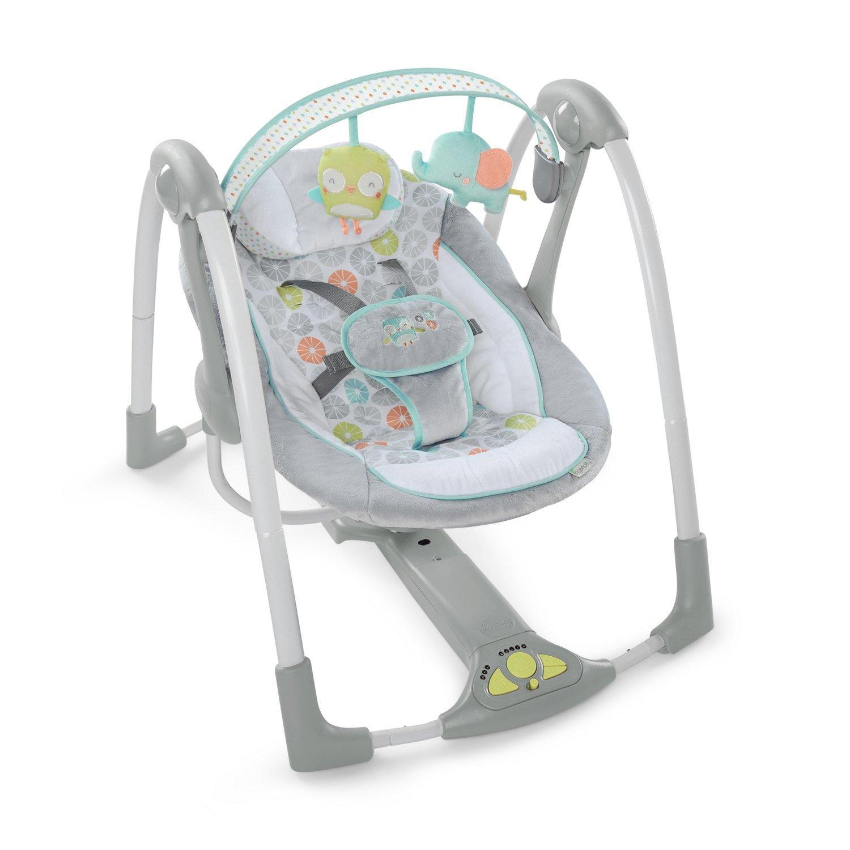 Amazon Ingenuity Swing n Go Portable Baby Swings Hugs