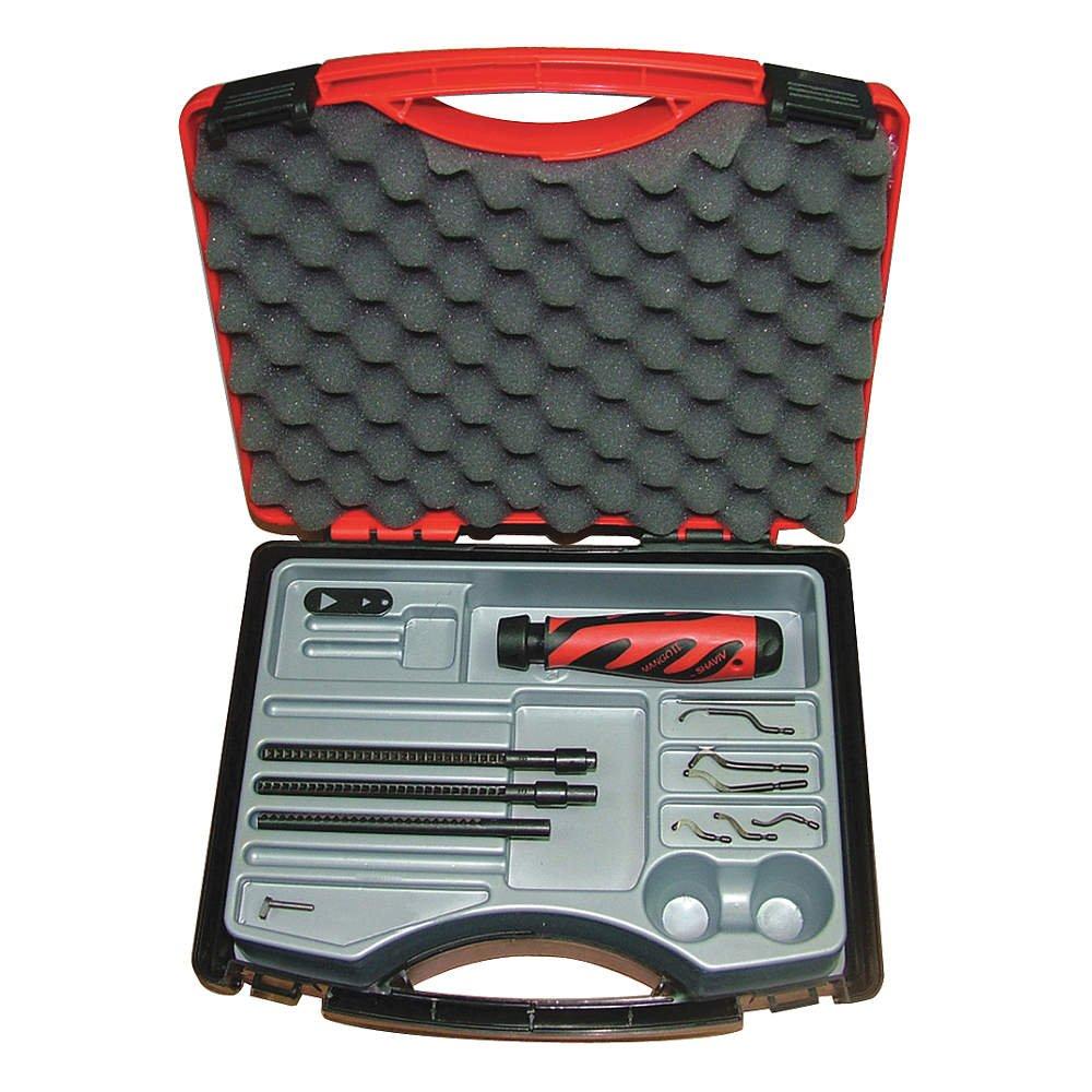 Shaviv - 155-90085 - Deburring Tool Set, Plastic, Hi Speed Stl. by SHAVIV