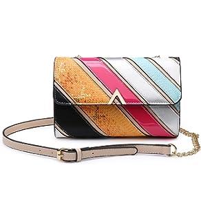 Ladies Faux Leather Studded Satchel Bag Shoulder Bag Saddle Bag Handbag KT2060
