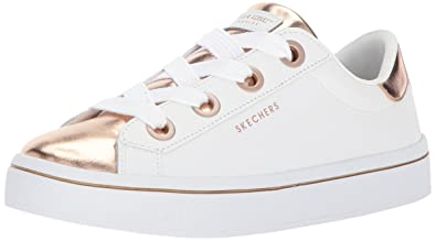5d6c6ce853f6 Skecher Street Women s s Hi-lite-Metallic Toe Into Sneaker  Amazon ...