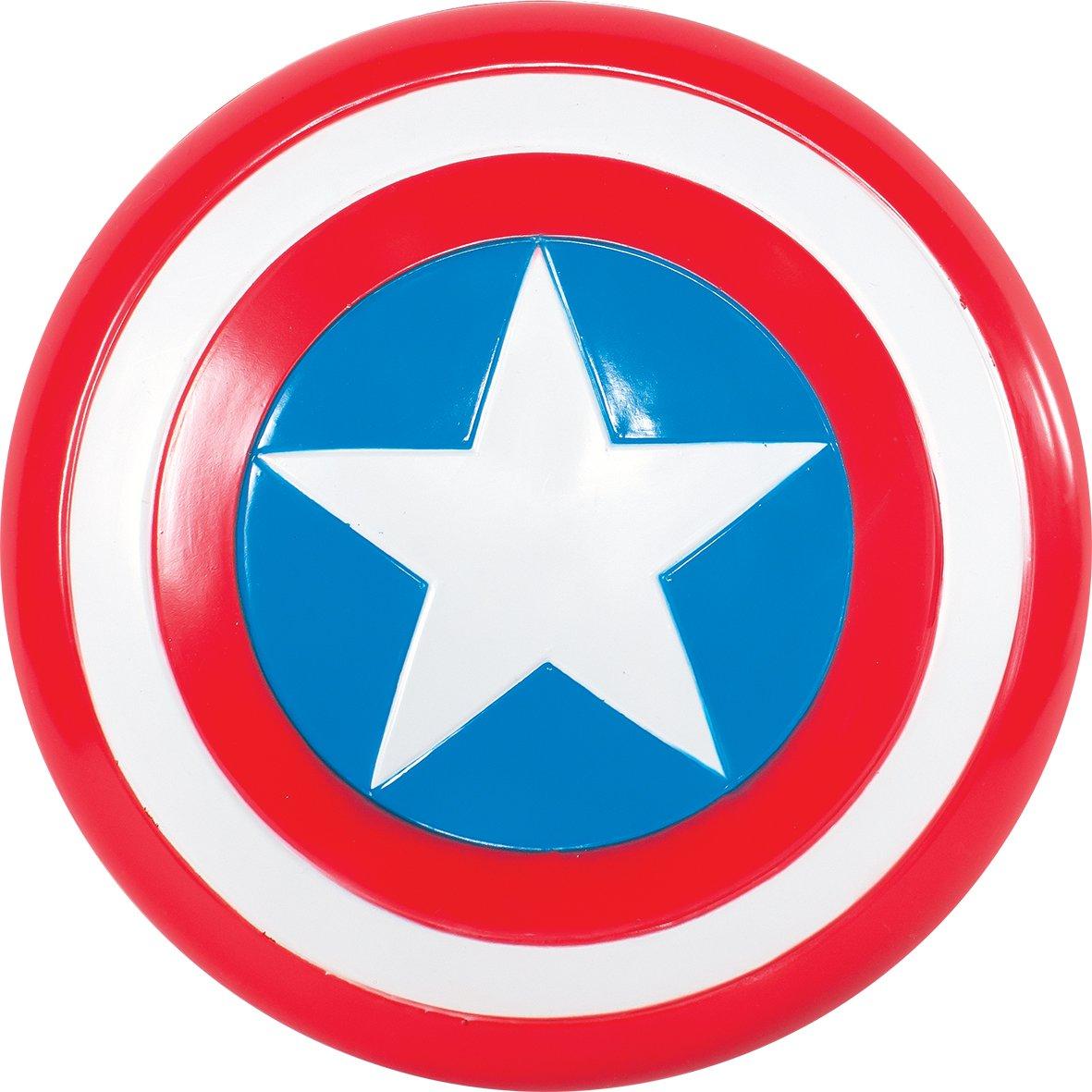 Rubie's-déguisement officiel - Marvel- Bouclier en mousse Captain América- Taille Unique- I-35640 RUBIES 35640_NS