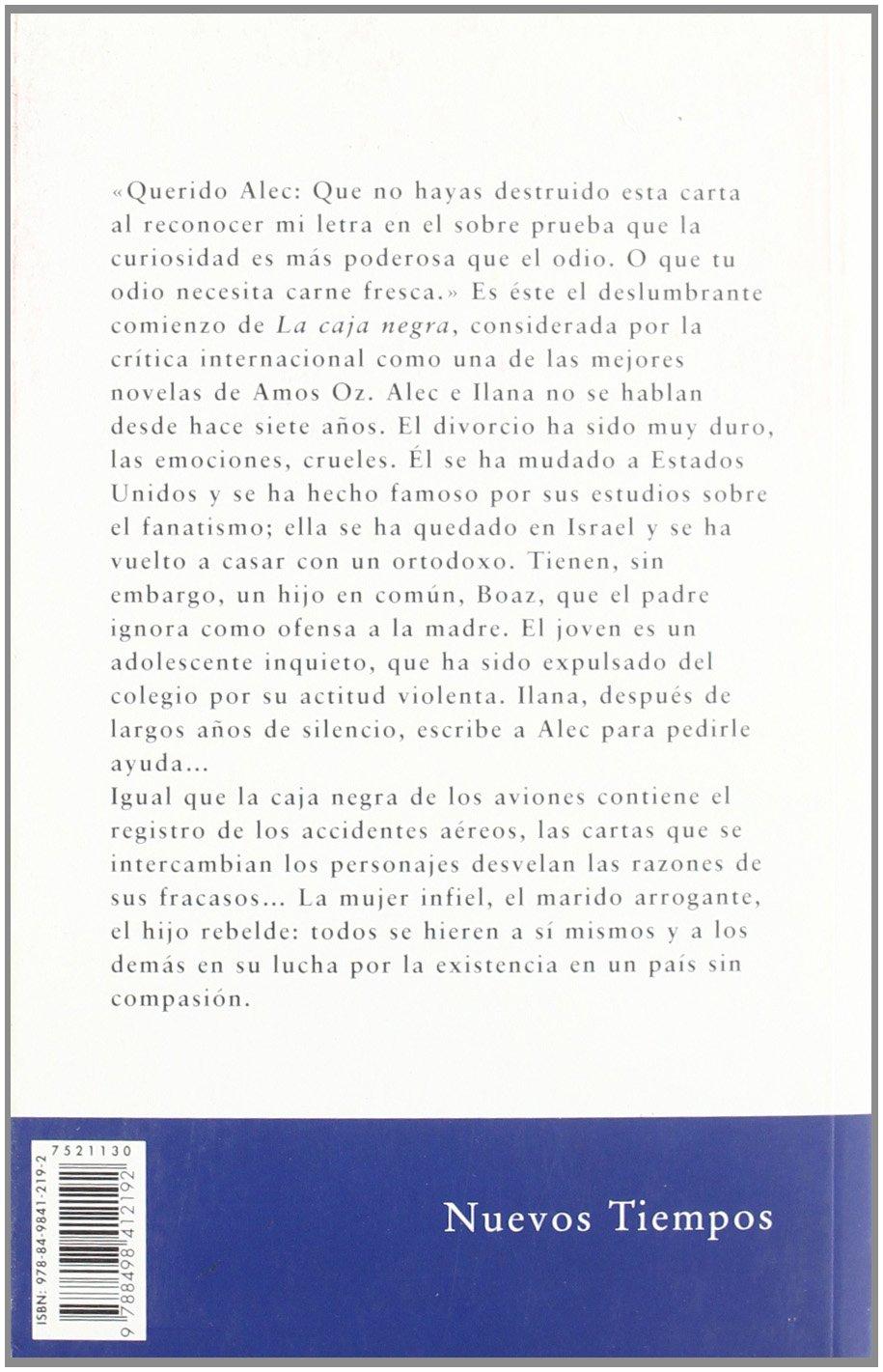 La caja negra (Nuevos Tiempos): Amazon.es: Oz, Amos, Rodríguez, Gracia: Libros