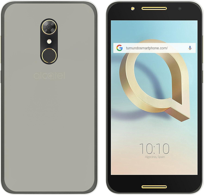 Tumundosmartphone Funda Gel TPU para ALCATEL A7 (4G) Color Transparente: Amazon.es: Electrónica