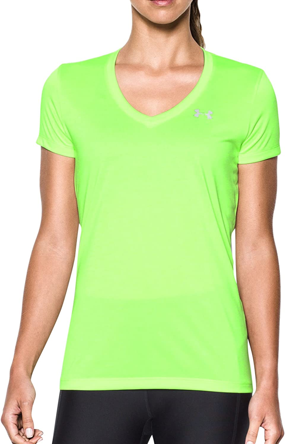 Under Armour Damen Kurzarmshirt Tech Ssv Solid