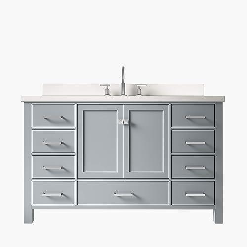 ARIEL Cambridge 55″ Inch Bathroom Vanity