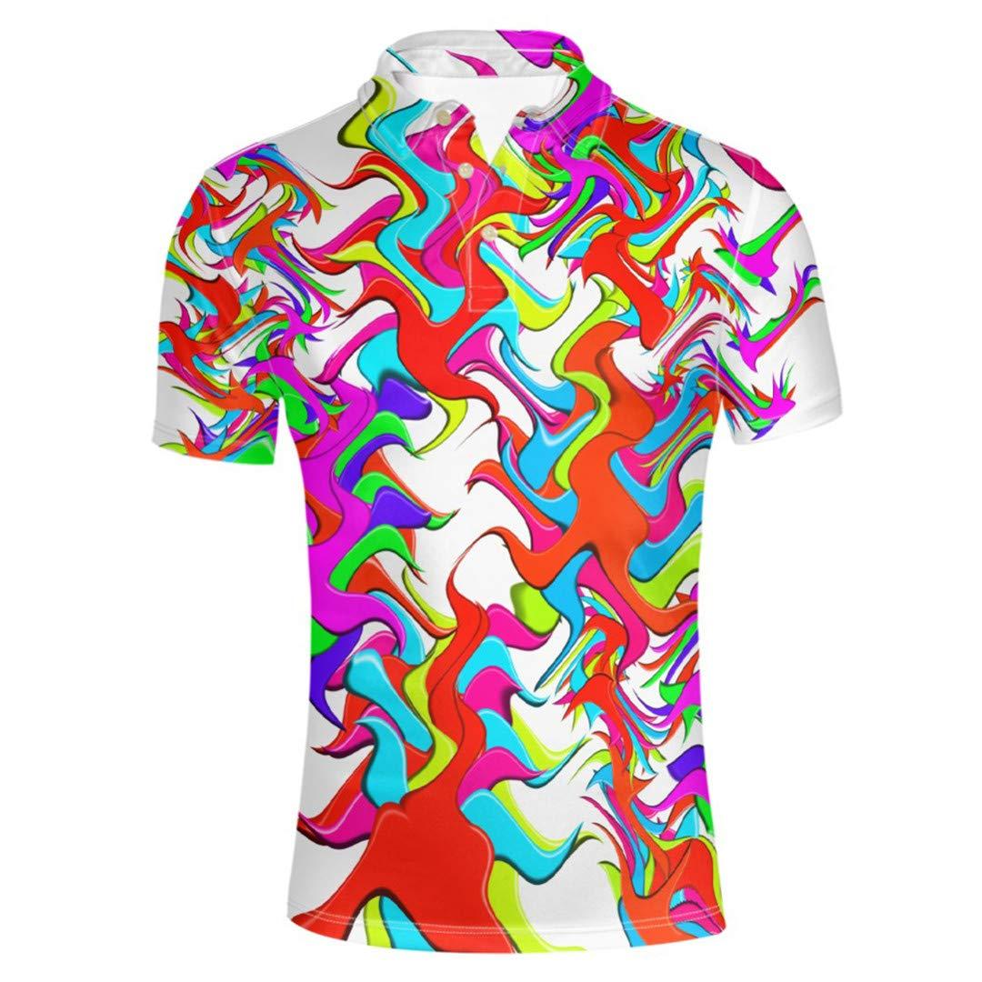 Sfnicve Male Short-Sleeve England Style Turn-Down Collar Shirt Slim Thin Breathable