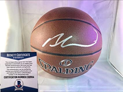 07d39ca2b126 Andre Drummond Detroit Pistons Autographed Signed Indoor Outdoor Basketball  - Fanatics