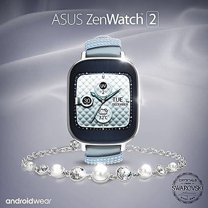 ASUS ZenWatch 2 Swarovski Édition spéciale 37 mm Smart Watch avec batterie de charge rapide, ...