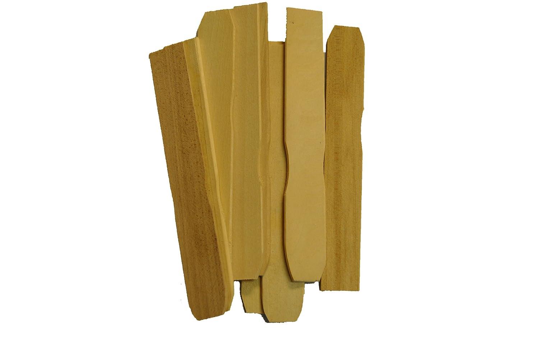 Perfect Stix木製ペイントパドルStirrer Sticks長(パックof 100 ) 12