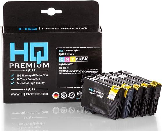 Hq Premium Tintenpatronen Multipack Ersetzt Epson Elektronik