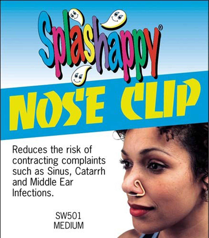 Splashappy Swimming Pool Swim Safety Nose Clip Medium Pack Of 10 by Splashappy