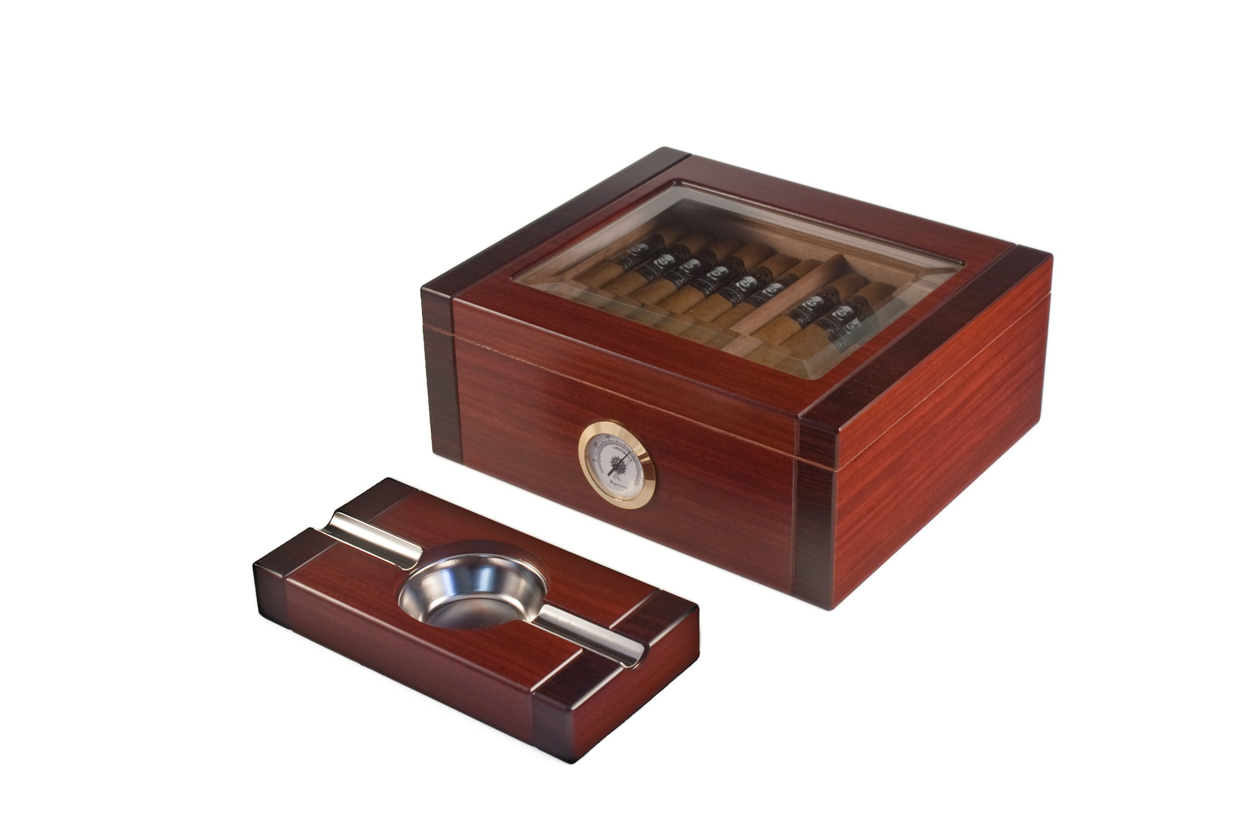 Orleans Group Supreme Humidor With Matching Ashtray, Count 20 by Orleans Group