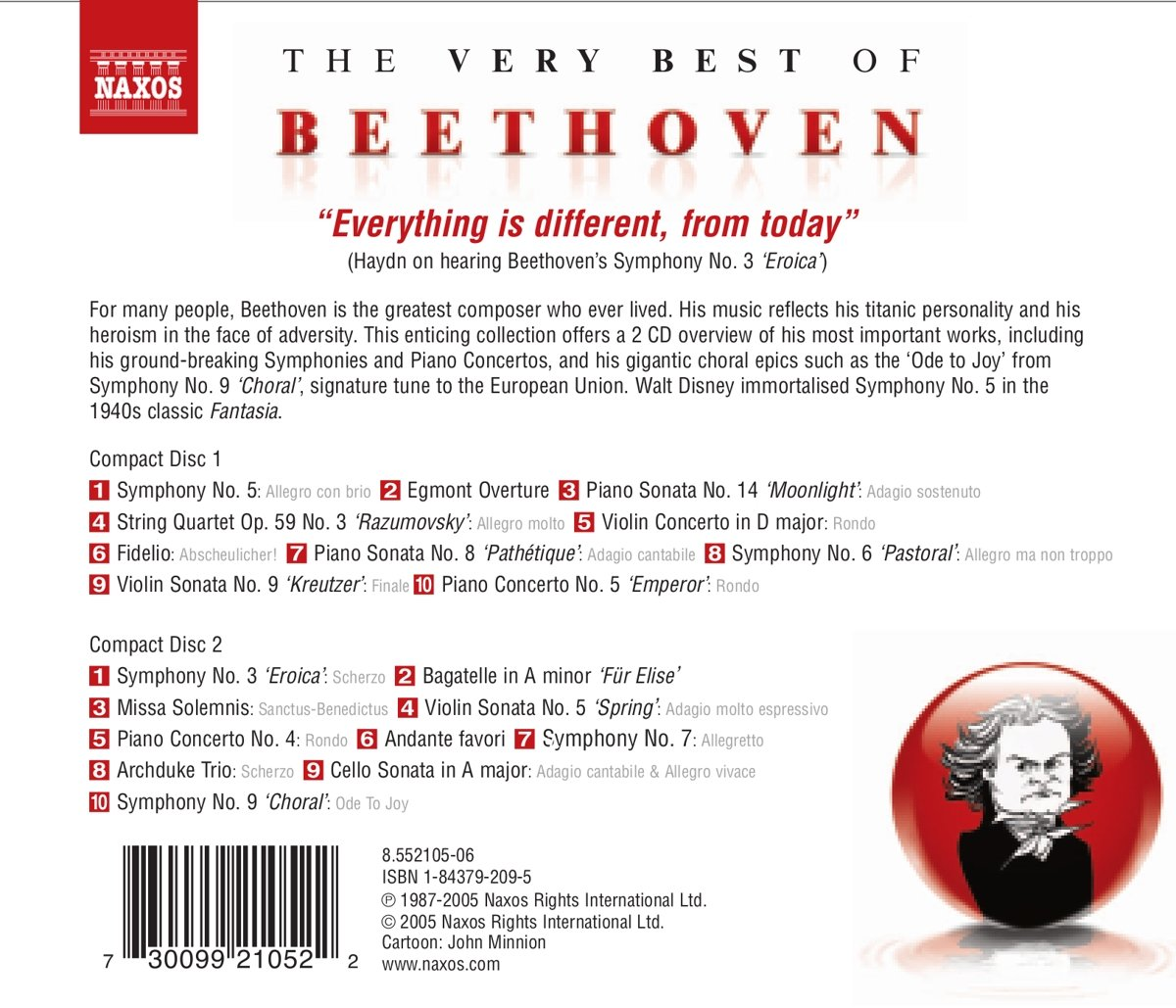 Very Best of Beethoven by CD