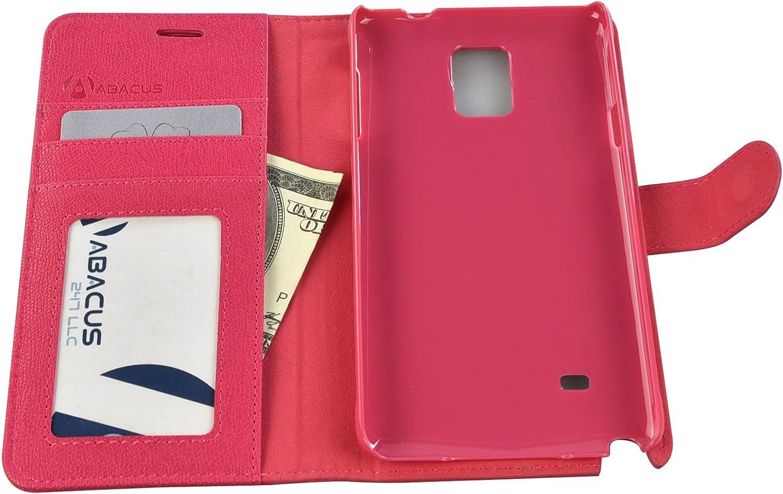 Abacus 091-SNT4-CS-PK Funda para teléfono móvil Folio Rosa: Amazon.es: Electrónica