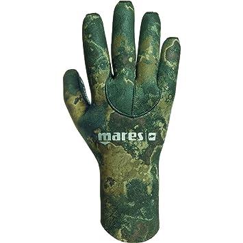 Amazon.com: Mares Green Camo 30 - Guantes para buceo y ...