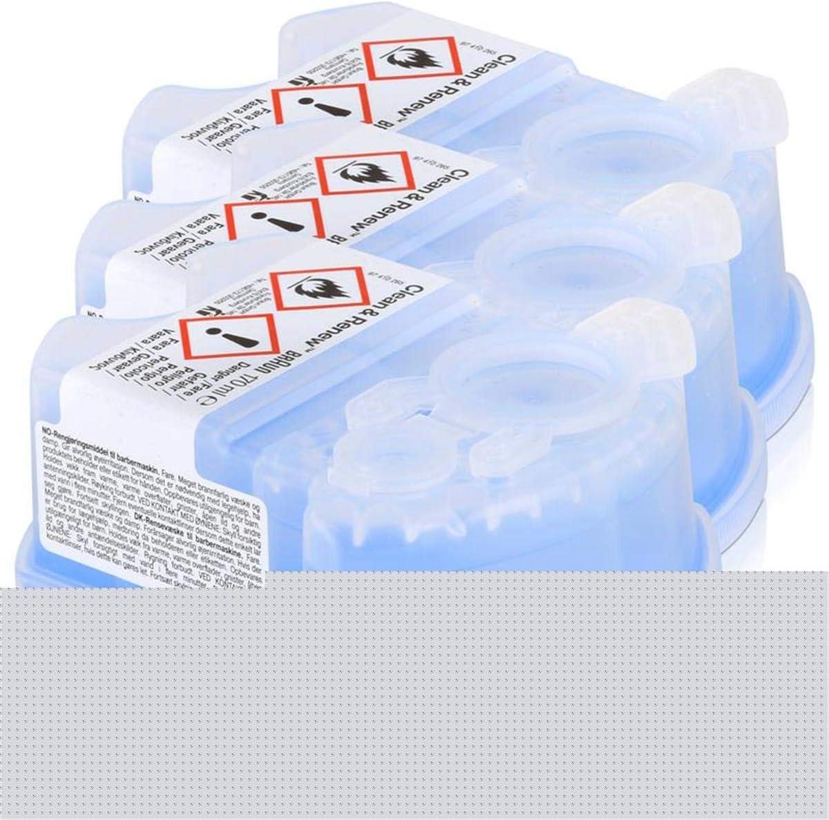Braun - Pack de 3 recambios de líquido limpiador para el sistema ...