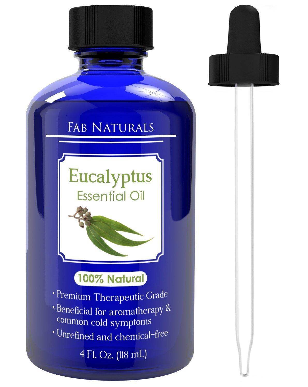 Eucalyptus Essential Oil 4oz   Premium Therapeutic Grade, For Diffuser,  Humidifier, Sauna,