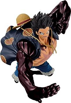 Amazon Com Banpresto One Piece 6 3 Inch Gear Fourth Luffy Figure Sculture Big Zoukeio Special Toys Games