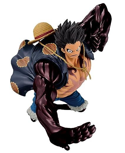 Amazon.com  Banpresto One Piece 6.3-Inch Gear Fourth Luffy Figure ... a5c9975f71a